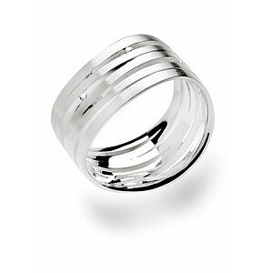 Bastian 10995 Inverun Silber Ring Diamanten