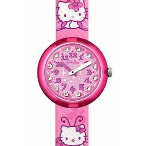 Flik Flak Uhren FLNP005 Girl Kinderuhr Pre-School (5+) Hello Kitty Butterfly - 70223