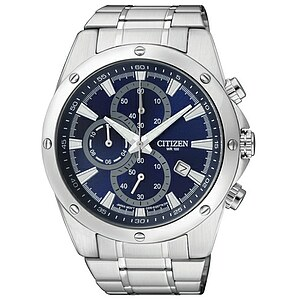 Citizen Uhren AN3530-52L Herren-Chronograph Basic blau - 70236