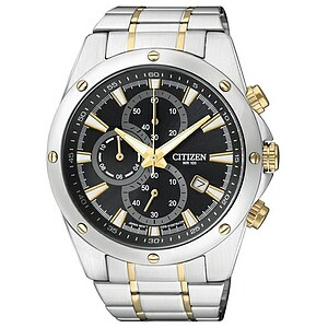 Citizen Uhren AN3534-51E Herren-Chronograph Basic bicolor - 70237
