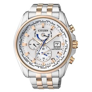 Citizen Uhren AT9034-54A Eco-Drive Radio Controlled Funk Elegant bicolor - 70433