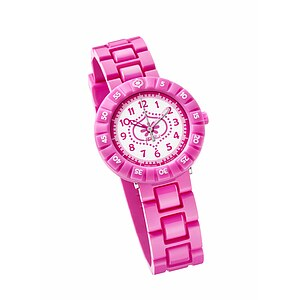 Flik Flak Uhren FCSP012 Kinderuhr Full-Size Girl (7+) Scuba Pink Summer Breeze - 70465
