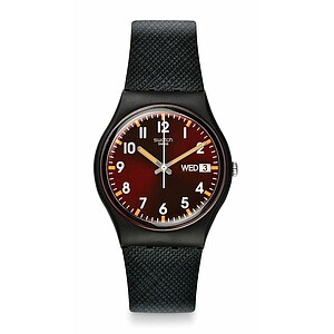 Swatch Uhr GB753 CLASSIC Gent Sir Red - 70497