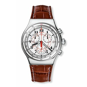 Swatch Uhr YVS414 CLASSIC New Irony Chrono Back to the Roots
