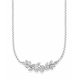 Thomas Sabo KE1313-051-14 GLAM & SOUL Silver Collier Blätter FAIRY TWINES Pavé weiß - 70559
