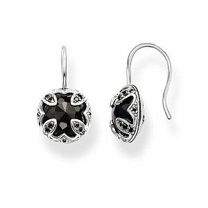 Thomas Sabo H1825-641-11 GLAM & SOUL Silver Brisur-Ohrringe Onyx THE PURITY OF LOTOS schwarz - 70571