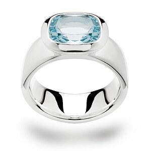 Bastian 11651 Inverun Silber Ring Blautopas
