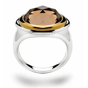 Bastian 11698 Inverun Silber Ring Rauchquarz
