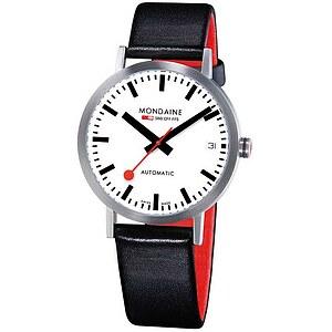 Mondaine Uhren A128.30008.16SBB Bahnhofsuhr Classic Automatic 33 mm mattiert