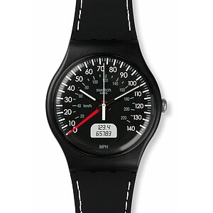 Swatch Uhr SUOB117 GRAN TURISMO New Gent Black Brake - 70884