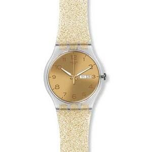 Swatch Uhr SUOK704 SPRING BREEZE New Gent Golden Sparkle