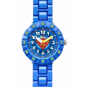 Flik Flak Uhren FFLP002 Kinderuhr Full-Size Boy (7+) Superman - 70954