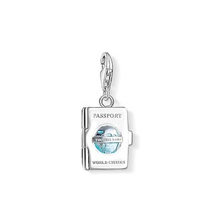 Thomas Sabo CC 1233-007-17 Anhänger Passport CHARM CLUB - 71018