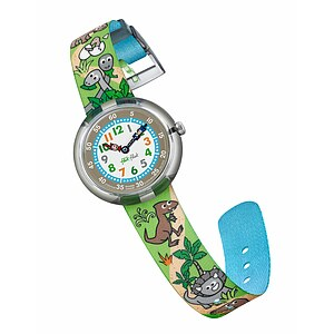 Flik Flak Uhren FBNP048 FUNNY HOURS Kinderuhr Story Time Boys (3+) Sauruses Return - 71083