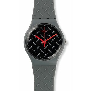 Swatch Uhr SUOM102 TECH MODE New Gent Text-Ure