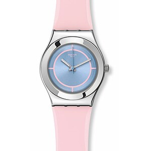 Swatch Uhr YLS182 TECH MODE Irony Medium Rose Punch
