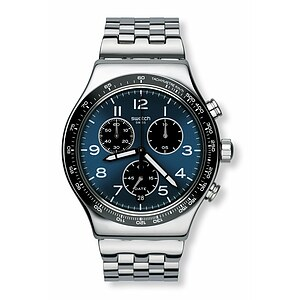 Swatch Uhr YVS423G TECH MODE New Irony Chrono Boxengasse - 71133