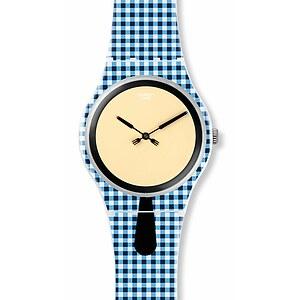 Swatch Uhr SUOW118 GRÜEZI ALL New Gent Moitié-Moitié