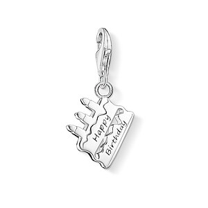 Thomas Sabo CC 1287-001-12 CHARM CLUB Anhänger Torte HAPPY BIRTHDAY - 71171