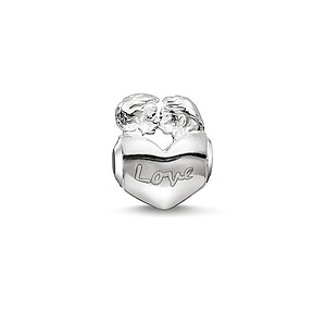 Thomas Sabo K0162-001-12 KARMA BEADS Silver Bead Lovers - 71238