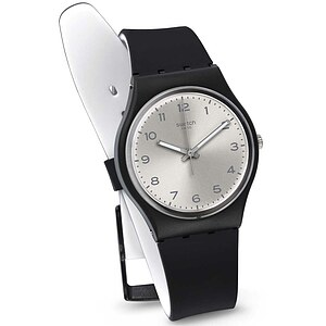 Swatch Uhr GB287 EXOTIC CHARM Gent Silver Friend Too - 71368