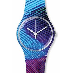 Swatch Uhr SUOK113 EXOTIC CHARM New Gent Peacobello