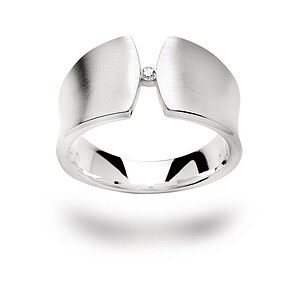 Bastian 11767 Inverun Silber Ring Diamant
