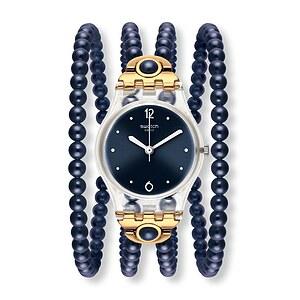 Swatch Uhr LK352 APRÈS-SKI Original Lady Night Prohibition