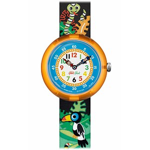 Flik Flak Uhren-Serie FBNP061 SUMMER LAUNCH Kinderuhr Story Time Girls (3+) Destino Rio - 71516