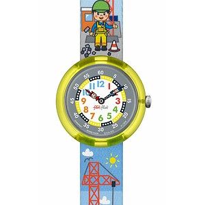 Flik Flak Uhren-Serie FBNP057 SUNNY HOURS Kinderuhr Story Time Boys (3+) Lift It Up - 71538