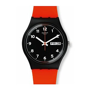 Swatch Uhr GB754 POWER TRACKING Gent Red Grin - 71561