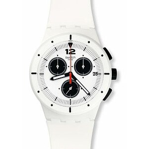 Swatch Uhr SUSW406 POWER TRACKING Chrono Plastic Why Again - 71576