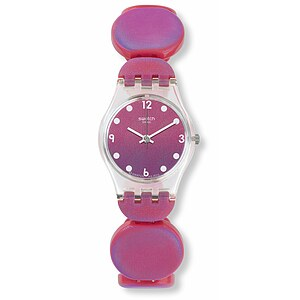 Swatch Uhr LK357B METALLIX Original Lady Moving Pink
