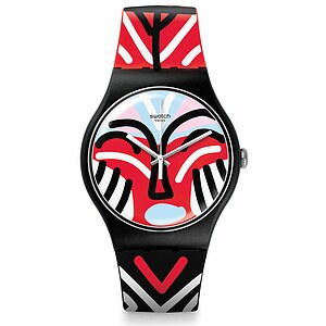 Swatch Uhr SUOB127 AFRICANA New Gent Mask Parade - 71700