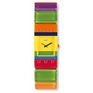 Swatch Uhr SUBJ101A BEACH SWING Square Colorido - 71737