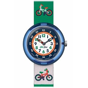 Flik Flak Uhren-Serie FBNP067 FUNNY HOURS Kinderuhr Story Time Boys (3+) Ride Out - 71759