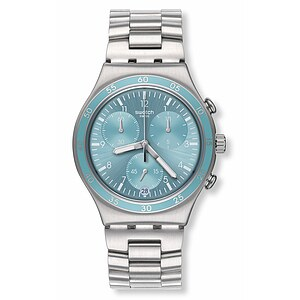 Swatch Uhr YCS589G ARCHI-MIX Irony Chrono Clear Water