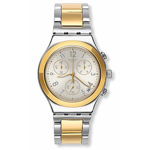 Swatch Uhr YCS590G ARCHI-MIX Irony Chrono Dreamnight Golden - 71800