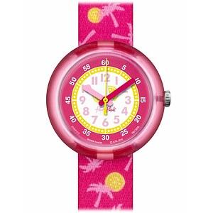 Flik Flak Uhren-Serie FPNP010 FUNNY HOURS Kinderuhr Power Time Girls (7+) Pink Summer
