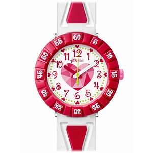 Flik Flak Uhren-Serie FCSP036 FUNNY HOURS Kinderuhr Power Time Girls (7+) Get it in Pink