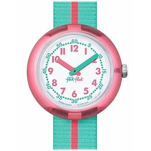 Flik Flak Uhren-Serie FPNP020 SUNNY HOURS - COLOR BLOCK Kinderuhr Friends & Heroes Girls (5+) Pink Band