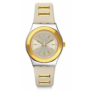 Swatch Uhr YLS195 A TRAVELER'S DREAM Irony Medium Golden Steps - 72005