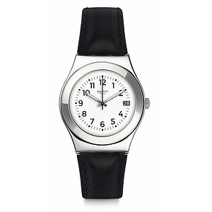 Swatch Uhr YLS453 TIME TO SWATCH Irony Medium Licorice