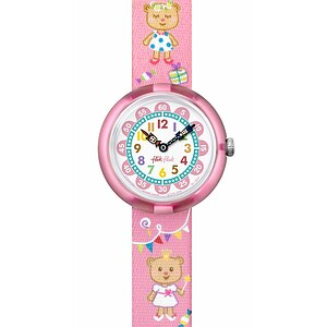 Flik Flak Uhren-Serie FBNP083 SUNNY HOURS - BIRTHDAY PARTY Kinderuhr Story Time Girls (3+) Lovely Party - 72069