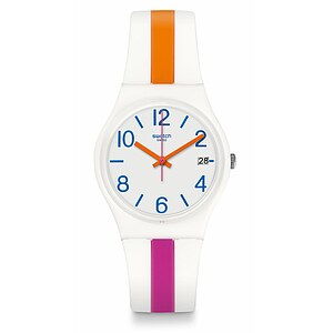 Swatch Uhr GW408 ACTION HEROES Pinkline - 72105