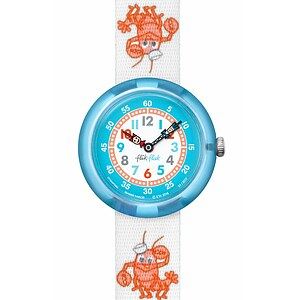 Flik Flak Uhren-Serie FBNP089 A DAY AT THE BEACH Kinderuhr Story Time Boys (3+) Lobster Stripe - 72133