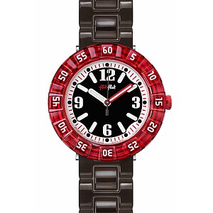 Flik Flak Uhren-Serie FCSP057 A DAY AT THE BEACH Kinderuhr Power Time Boys (7+) Snorkeling Black - 72142