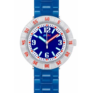 Flik Flak Uhren-Serie FCSP058 A DAY AT THE BEACH Kinderuhr Power Time Boys (7+) Snorkeling Blue - 72143