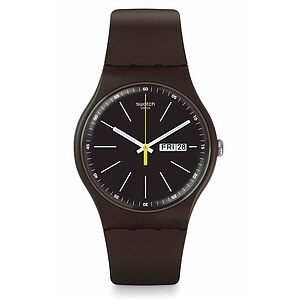 Swatch Uhr SUOC704 COUNTRYSIDE New Gent Blue Browny - 72152