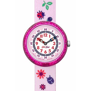 Flik Flak Uhren-Serie FBNP093 GREAT CAMPING Kinderuhr Story Time Girls (3+) Autumn Colors - 72215